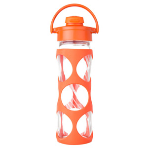 Lifefactory láhev EVERYDAY s flip uzávěrem 475 ml Bright Orange