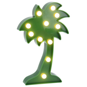 Zářící výzdoba COCONUT TREE, figurka LED Home Styling Collection