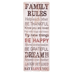 Cedule FAMILY RULES 7842