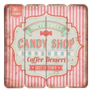 Cedule CANDY SHOP 7836
