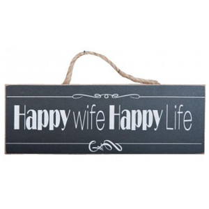 Cedule HAPPY WIFE HAPPY LIFE 7564
