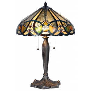 ClayreC Stolní lampa Tiffany Limours 5LL-5299