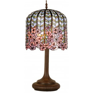 ClayreC Stolní lampa Tiffany Argenteuil 5LL-5375