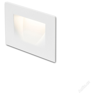 RED - DESIGN RENDL 12576 PER zápustná bílá 230V LED 3W IP54 3000K