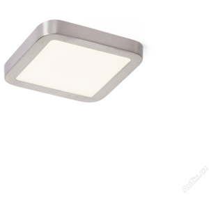 RED - DESIGN RENDL 12778 HUE SQ 9 zápustná matný nikl 230V LED 6W 3000K