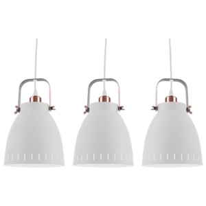 LAMPA MINGLE TRIPLET BÍLÁ