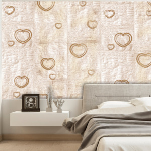 Tapeta Bimago - Heart of Gold + lepidlo zdarma role 50x1000 cm