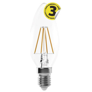 EMOS Lighting LED žárovka Filament Candle A++ 4W E