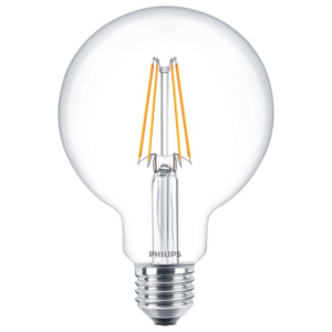 PHILIPS FILAMENT Classic LEDglobe 7-60W E27 827 G93 ND retro LED žárovka