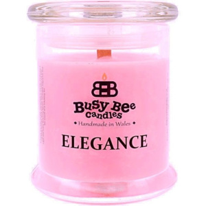 Busy Bee Candles Elegance praskající svíčka Pink Lemonade