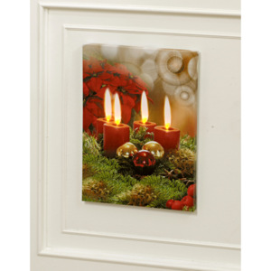 Magnet 3Pagen LED obraz Advent