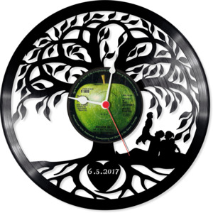 Wedding gift clock
