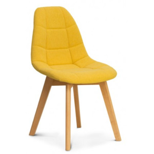 Židle WESTA, yellow ATR home living WESTALG003