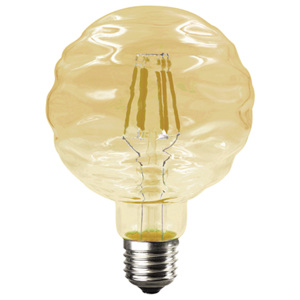 ACA DECOR Retro LED žárovka Waft Gold