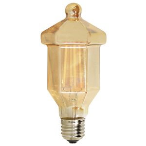 ACA DECOR Retro LED žárovka Lantern Gold
