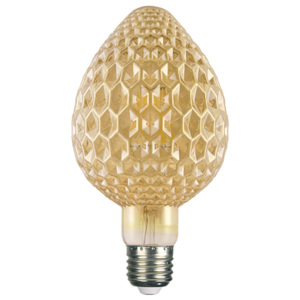 ACA DECOR Retro LED žárovka Mava Gold