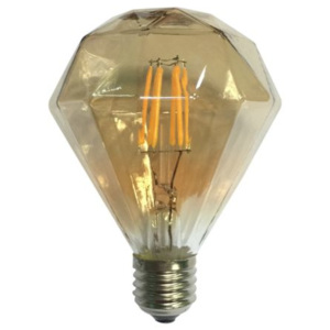 ACA DECOR LED Decorative E27 Gold retro LED žárovka