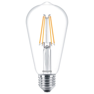 PHILIPS FILAMENT Classic LEDbulb ND 7-60W E27 827 ST64 retro LED žárovka