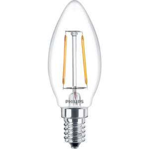 PHILIPS FILAMENT Classic LEDcandle ND 2-25W E14 827 B35