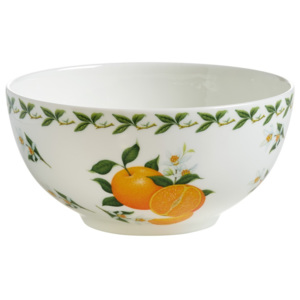 Miska z kostního porcelánu Maxwell & Williams Orchard Fruits Orange, ⌀ 16 cm