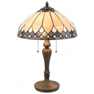 ClayreC Stolní lampa Tiffany Simple 5LL-5184