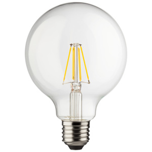 ACA DECOR Retro LED žárovka Globe 8W E27 G95 4000K