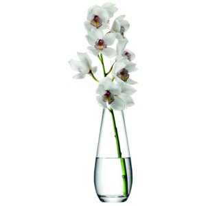 LSA INTERNATIONAL LSA Flower Tall stem váza 29cm čirá