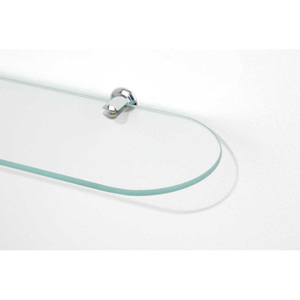 SHELF glass oval S