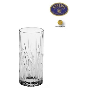 Crystal Bohemia Sklenice na long drink ELISE 350 ml, 6 ks