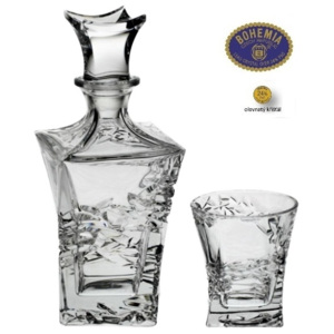 Crystal Bohemia SAMURAI whisky set (1+6)