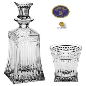 Crystal Bohemia IMPERIAL whisky set (1+6)