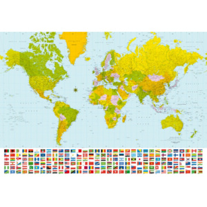 Fototapety Map of the World F280