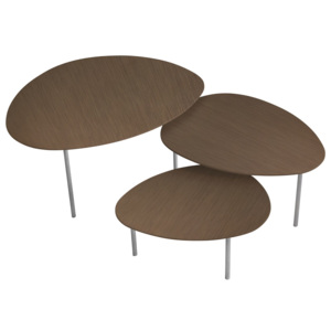 Eclipse table Dřevo Wenge ----- M