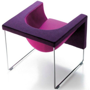 NUBE chair - Two tones DM 170/120