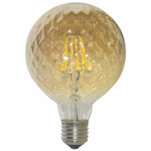ACA DECOR Retro LED žárovka Poc G95 Gold