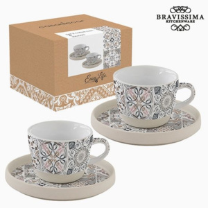 Sada hrnků Porcelán Šedý 2 pcs by Bravissima Kitchen