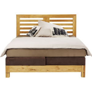 Attento Postel Boxspring Step Brown 160x200cm