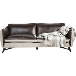Sofa Fashionista Leather/Canvas trojsedačka