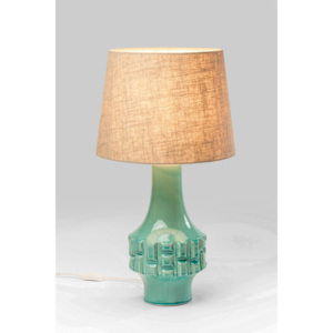 Stolní lampa Cosy Braid Turquoise