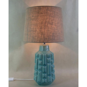 Stolní lampa Cosy Pattern Turquoise