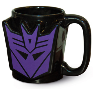Hrnek Transformers G1 - Decepticon Shield