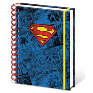 Dc Comics A5 Notebook - Superman Zápisník