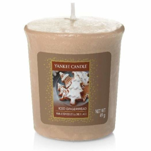 Votiv YANKEE CANDLE 49g Cookie Swap Iced Gingerbread