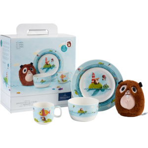 Villeroy & Boch Chewy around the world porcelánová sada, 4 ks