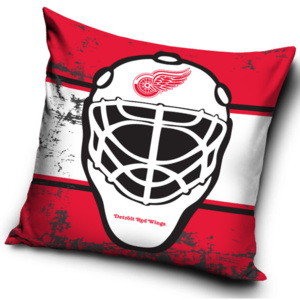 Polštářek NHL Detroit Red Wings Maska