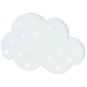 Jabadabado LED dřevěná lampa Cloud