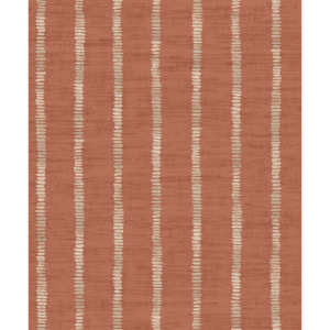Arthouse Tapeta na zeď - Arthouse Silk Road Stripe Silk Road Stripe Terracotta