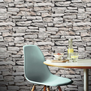 Arthouse Tapeta na zeď - Arthouse Stone Wall Taupe Stone Wall Taupe