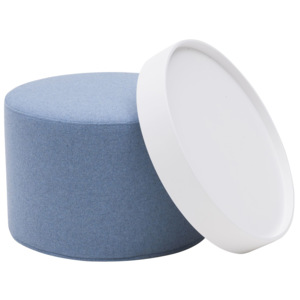 Drum Pouf - small Vision 453 --------