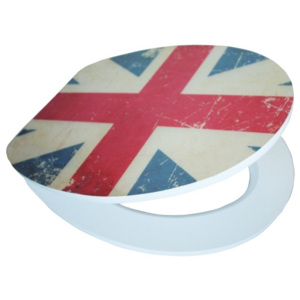 EISL WC sedátko LuxoHome softclose Union Jack MDF
